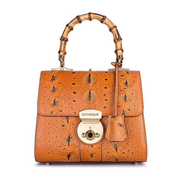 Designer Sturgeon Leather Handbag Crossbody Bag Evening Bag