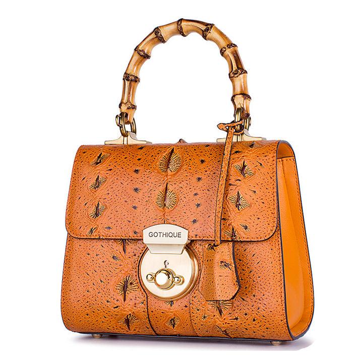 Sturgeon Leather Handbag Crossbody Bag Evening Bag