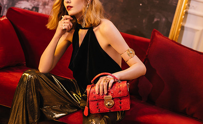 Stylish Sturgeon Leather Handbag, Shoulder Bag, Crossbody Bag Purse-Exhibition-1