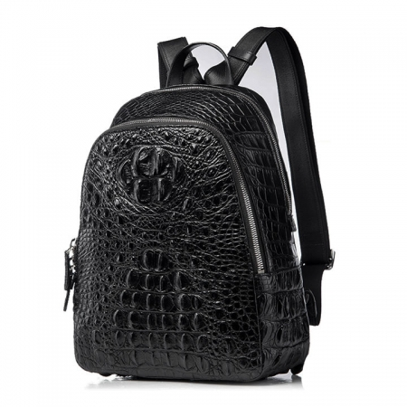 Unisex Crocodile Backpack, Fashion Crocodile Daily Backpack-1
