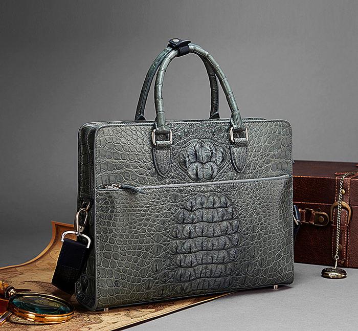 2018 New BRUCEGAO Alligator Bag for Men