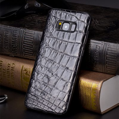Crocodile Galaxy S8, S8+ Plus Case, Alligator Galaxy S8, S8+ Plus Case-Black