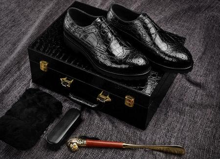 Alligator Shoes-Gift Box-Packaging Details