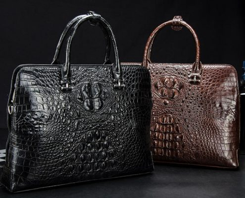 BRUCEGAO's Alligator Leather Briefcases