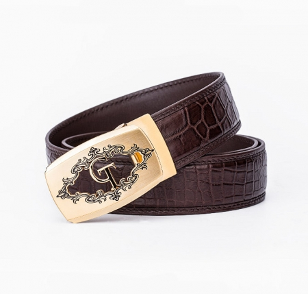 Designer Alligator Belt, Fashion Alligator Belt for Men-1