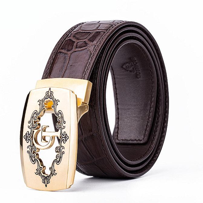 Designer Alligator Belt, Fashion Alligator Belt for Men