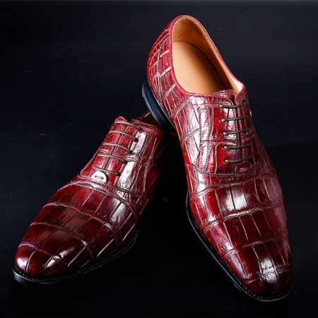 Designer Alligator Shoes for Men