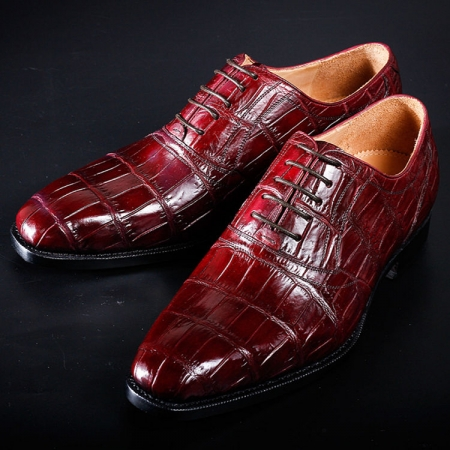 Designer Alligator Shoes for Men-Exhibition