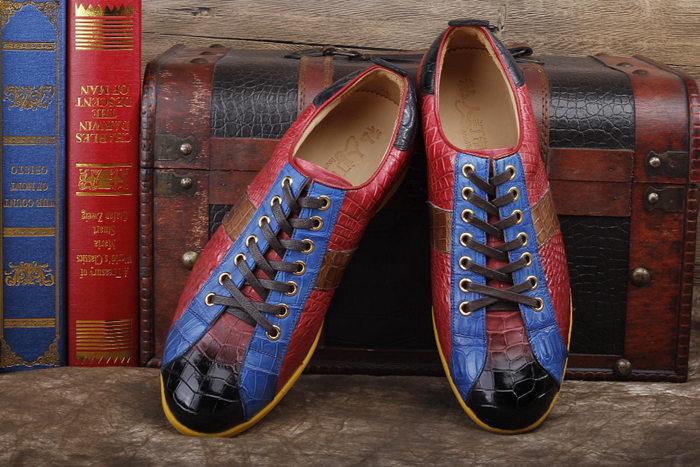 Fashion BRUCEGAO's Crocodile Shoes Art.No 002
