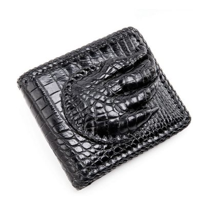 Handmade Crocodile Wallet Pocket Purse for Men