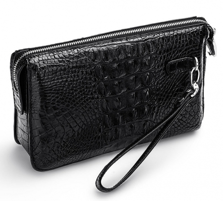 Large Capacity Crocodile Wallet - Back
