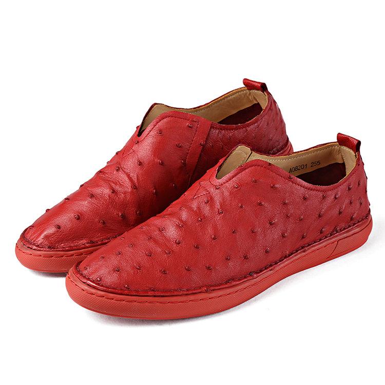 Men Ostrich Shoes Size