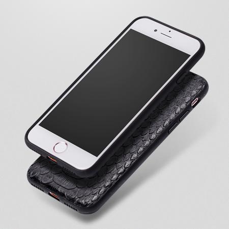 Black-Snakeskin iPhone 7 Case / iPhone 8 Case-1
