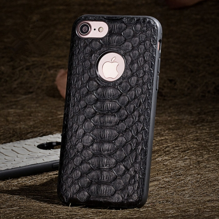 Black-Snakeskin iPhone 7 Case / iPhone 8 Case