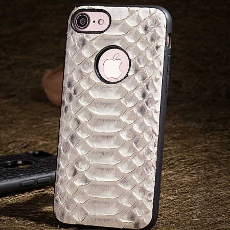 White-Snakeskin iPhone 7 Case / iPhone 8 Case