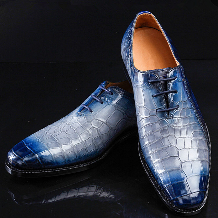 Timeless Alligator Shoes Mens Full Alligator Dress Shoes