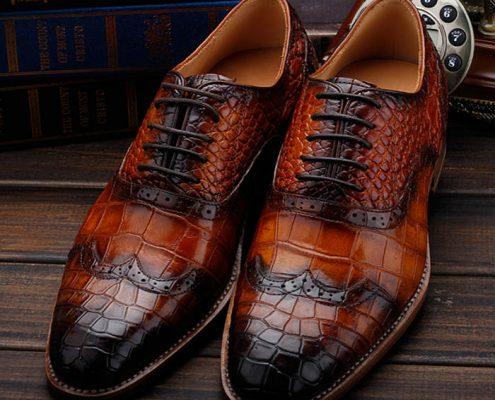 Alligator Shoes 2018 New