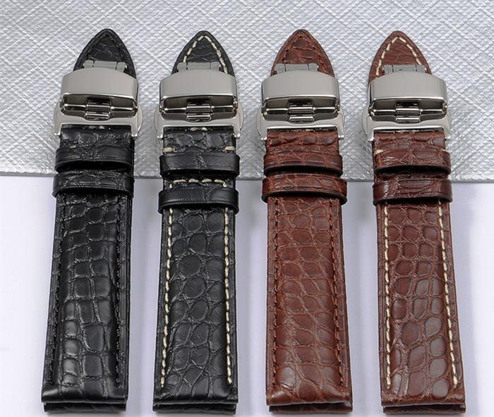 Alligator Watch Band for Rolex