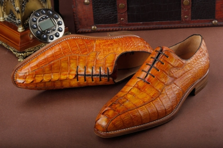 Casual Business Alligator Shoes for Men-1