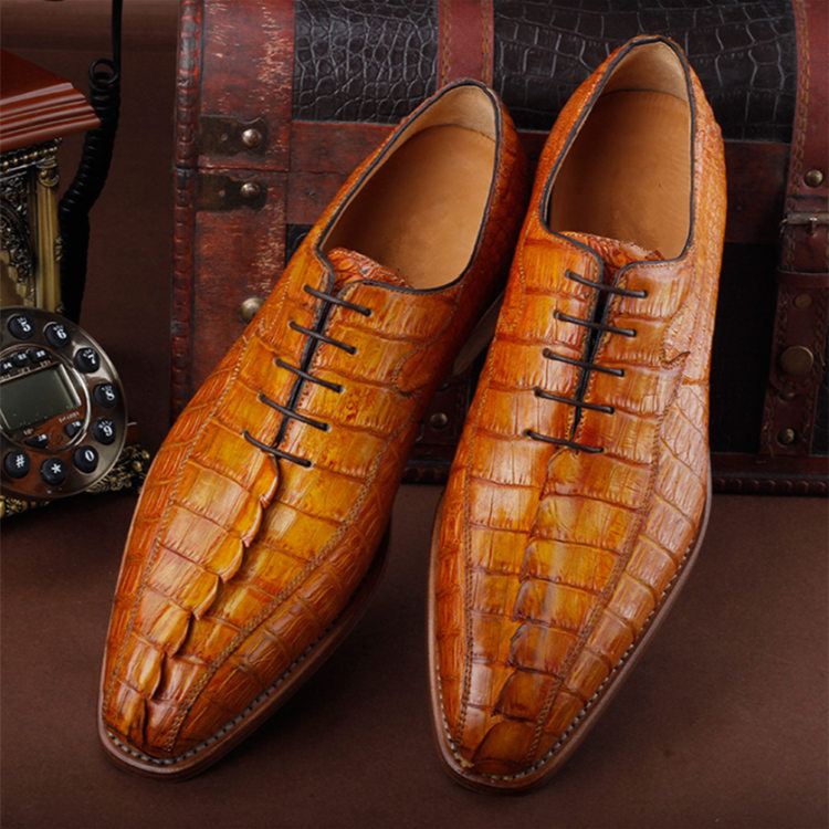 Casual Business Alligator Shoes for Men
