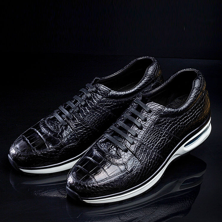 comfortable sports running alligator shoes for