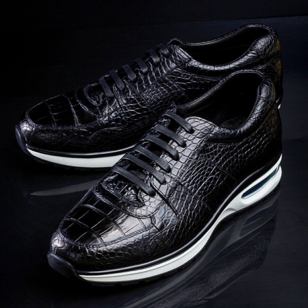 Comfortable Sports Running Alligator Shoes for Men-Exhibition