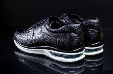 Comfortable Sports Running Alligator Shoes for Men-Heel
