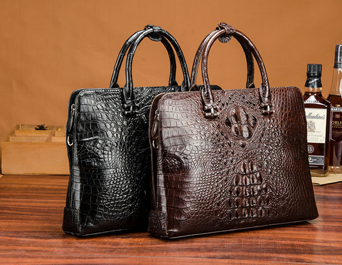 Crocodile Bag 2018 New Style BRUCEGAO