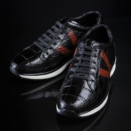 Fashion Running or Walking Alligator Shoes for Casual Outfits-Exhibition