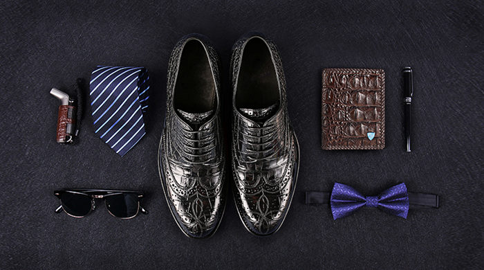 Groom's Wedding Alligator Shoes