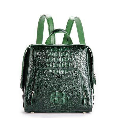 Ladies Genuine Crocodile Skin Backpack, Shoulder Bag