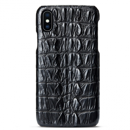 Black #4a iPhone X Case