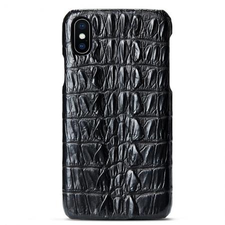 Black #4 iPhone X Case