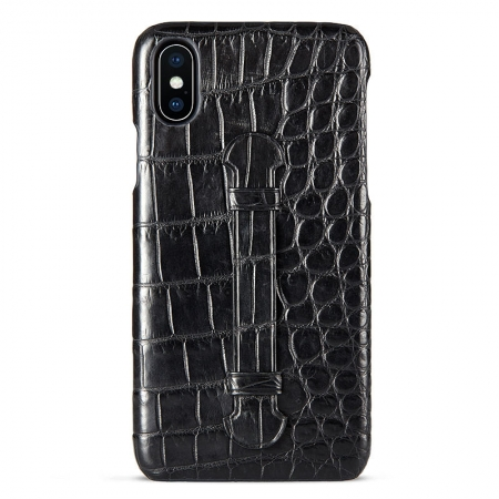 Black #5 iPhone X Case