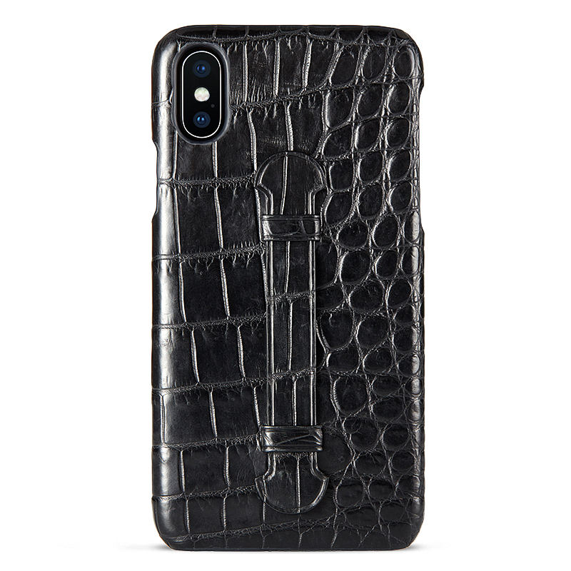 Black #5 iPhone X Case