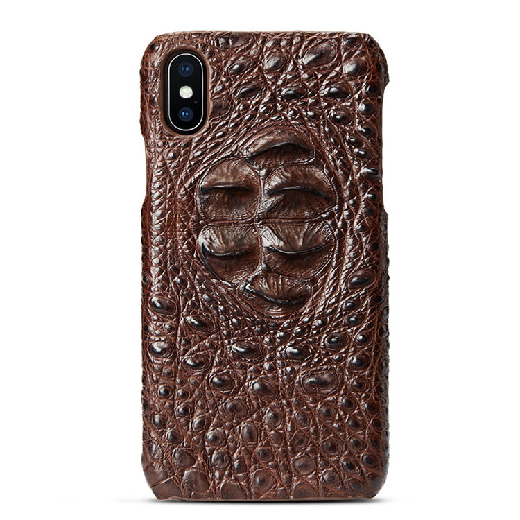 Brown #1a iPhone X Case