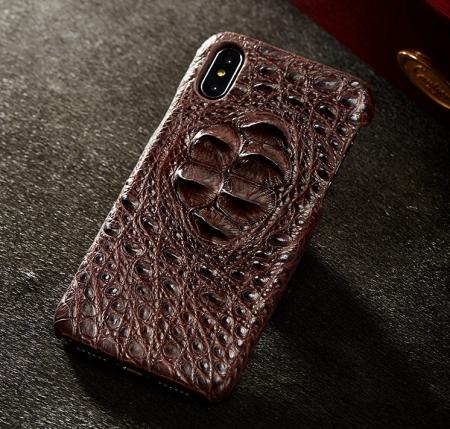 Brown #1 iPhone X Case-Exhibition