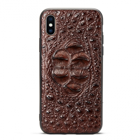 Brown #1b iPhone X Case
