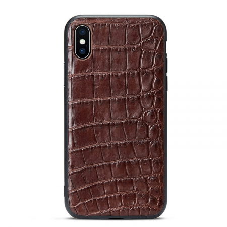 Brown #2b iPhone X Case