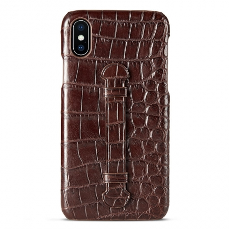 Brown #5 iPhone X Case