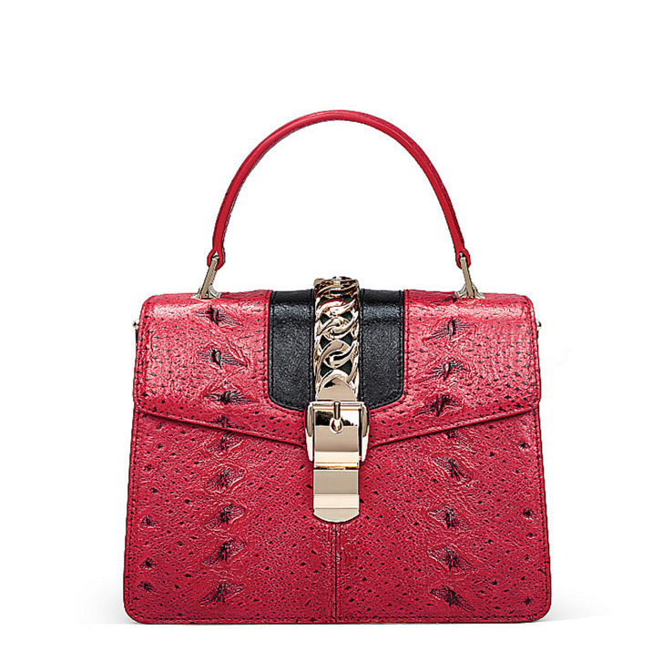 Designer Fashion Sturgeon Leather Handbag for Women