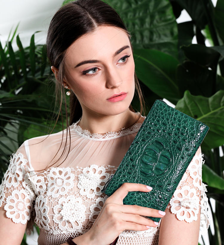 Fashion Crocodile Purse for Women