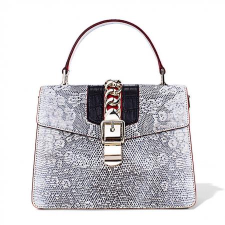 Fashion Designer Lizard Handbag