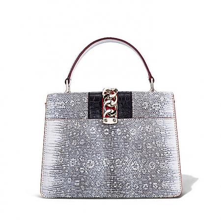 Fashion Designer Lizard Handbag-Back