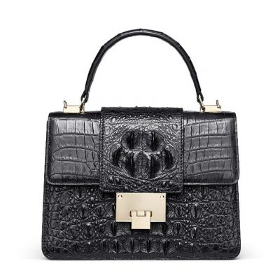 Fashion Genuine Crocodile Skin Crossbody Handbags