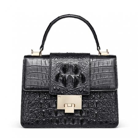 Fashion Genuine Crocodile Skin Crossbody Handbags