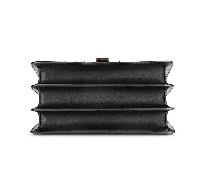 Fashion Genuine Crocodile Skin Crossbody Handbags-Bottom