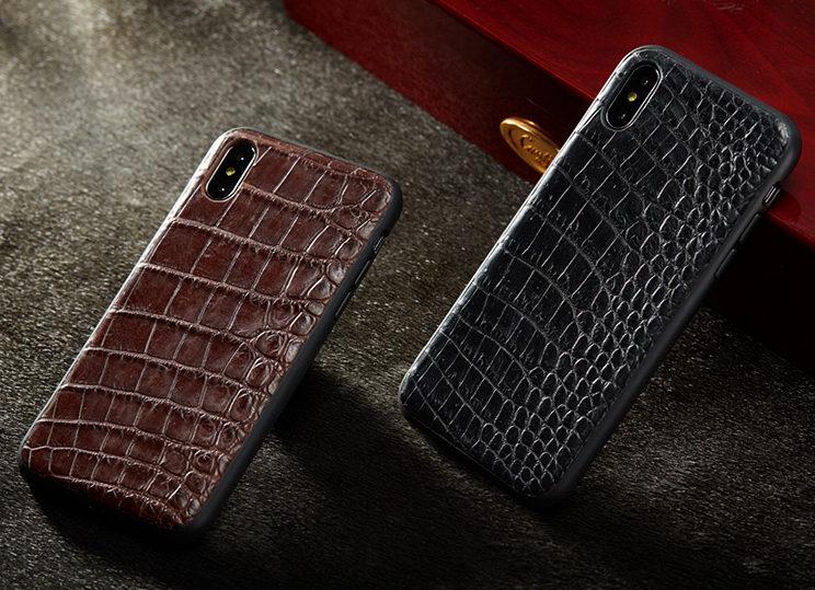 Genuine Alligator Skin iPhone Xs Max Case