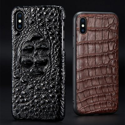 Crocodile iPhone Xs Max Case, Alligator iPhone Xs Max Case Cover
