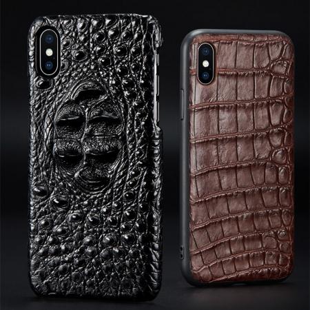 Genuine Crocodile and Alligator Skin iPhone Xs Max Case
